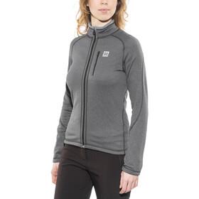 66° North Grettir Jacket Damen lavic grey/black
